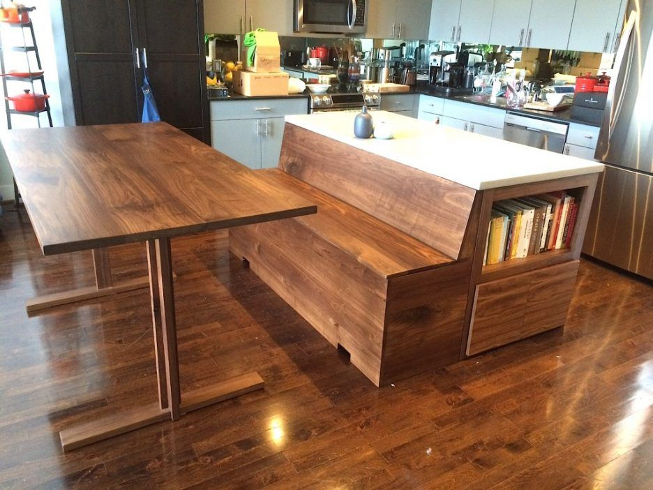 Kitchen : Wonderful Kitchen Nook Bench Seating Plans With Brown Oak Kitchen  Bench With Back Also
