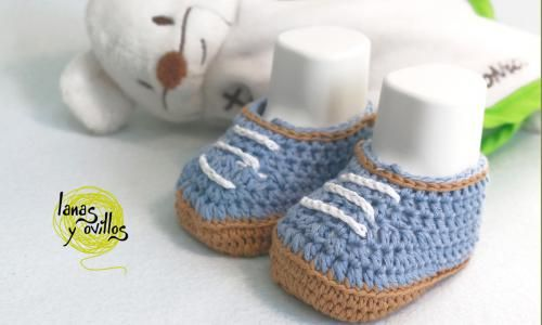 zapatos bebe crochet patrón gratis // free pattern | Slippers and ...