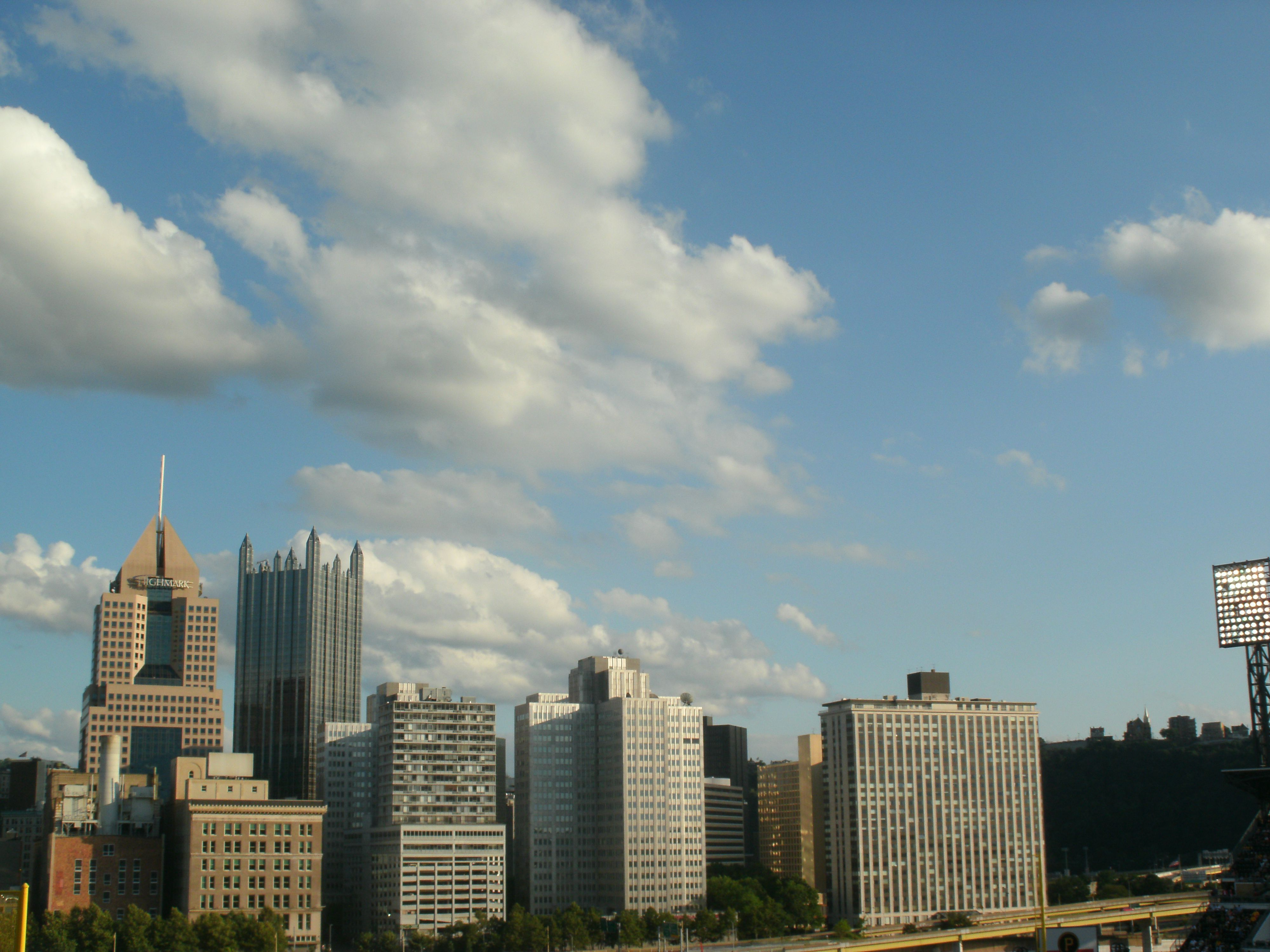 View from PNC Park, Pittsburgh