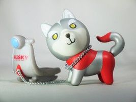 HUSKY x 3 HUSKYx3 Vinyl Figure Collection Series 6 Husky Hero Togo Ultraman Style 1pc