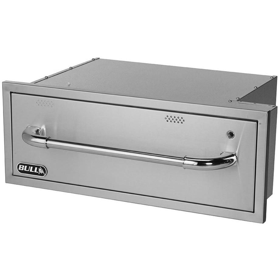 Bull 30 Inch Built In 110v Electric Stainless Steel Warming Drawer 85747 In 2020 Outdoor Kitchen Countertops Outdoor Kitchen Design Outdoor Cooking Area