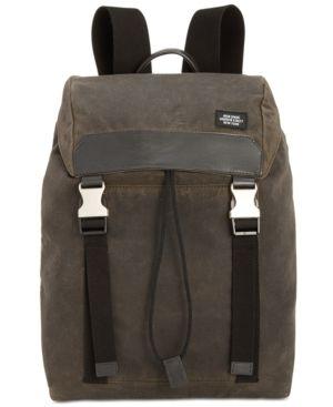 Jack Spade Men's Waxwear Camo Army Backpack - Brown