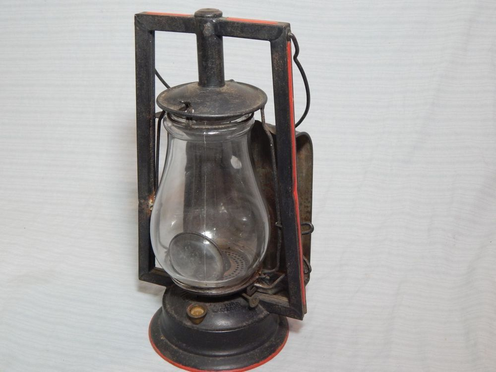 Vintage Dietz Buckeye Dash Lamp Tubular Lantern W
