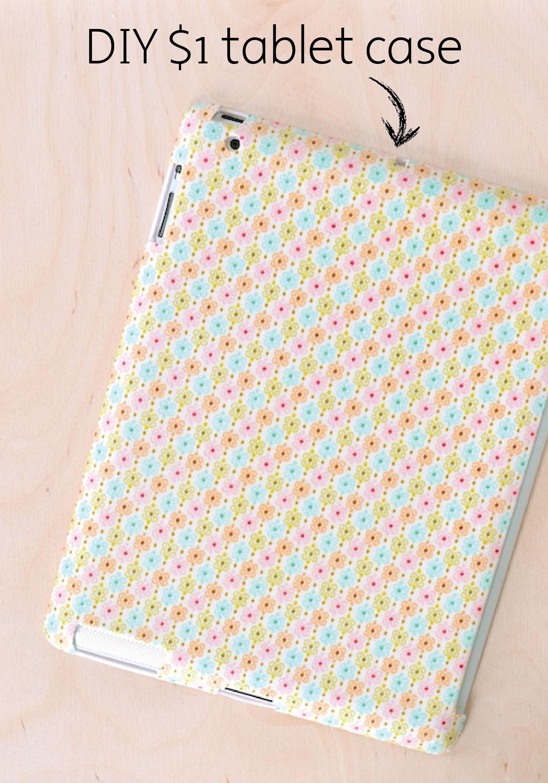 DIY iPad Case Made for a Dollar Ipad case, Diy, Ipad