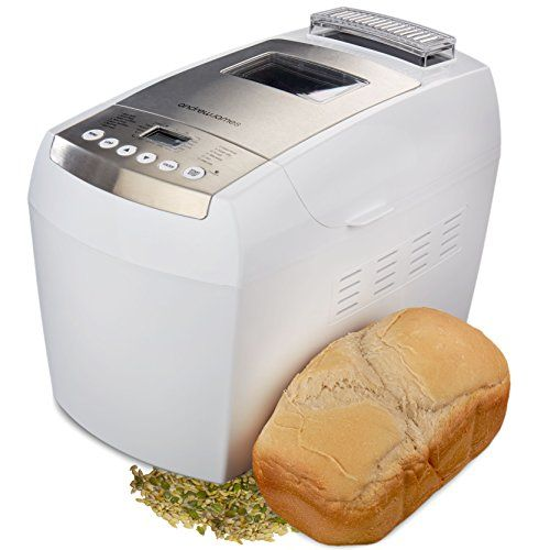 andrew james 890w automatic dual blade bread maker in white with 13 functions including gluten andrew james 890w automatic dual blade bread maker in white with      rh   pinterest com