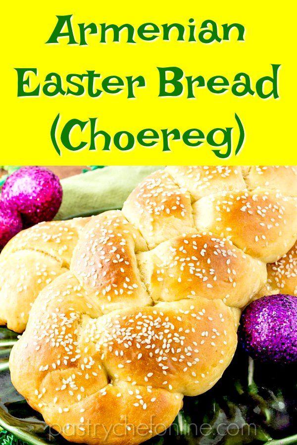 Armenian Easter Bread
