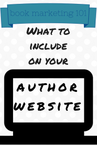 In our latest Book Marketing 101 post, our marketing director shares tips for what to include in your author or illustrator website.