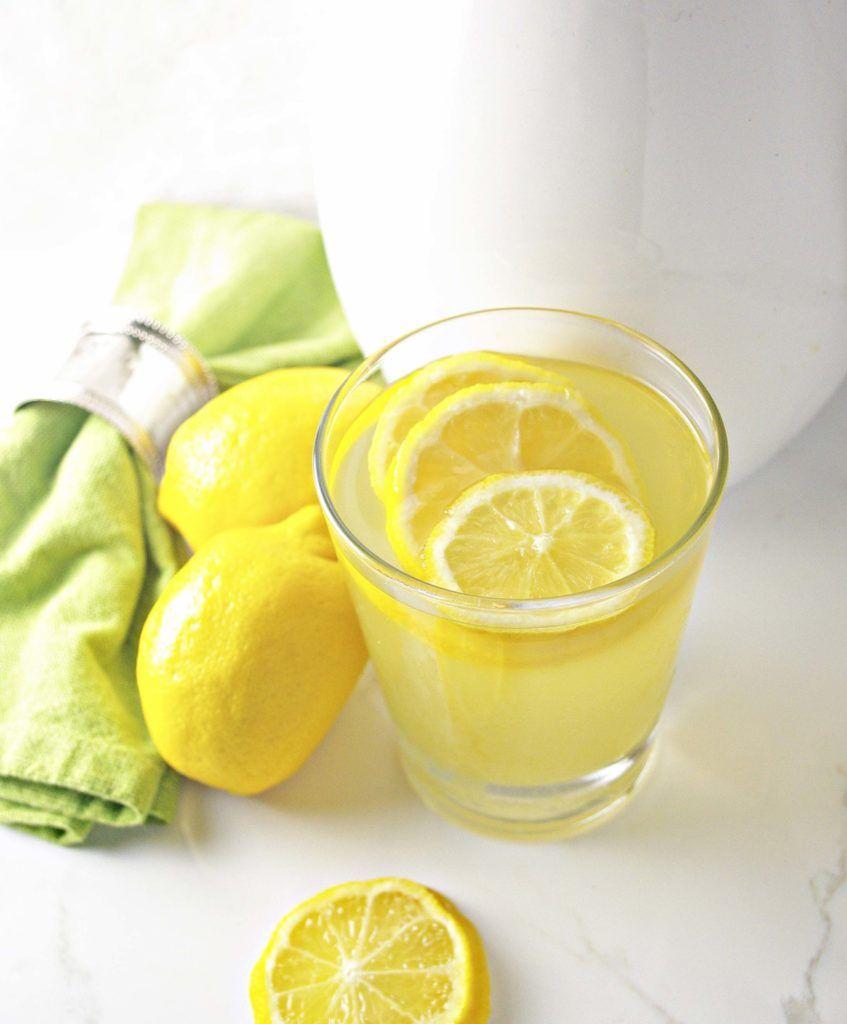Agave-Infused Homemade Lemonade