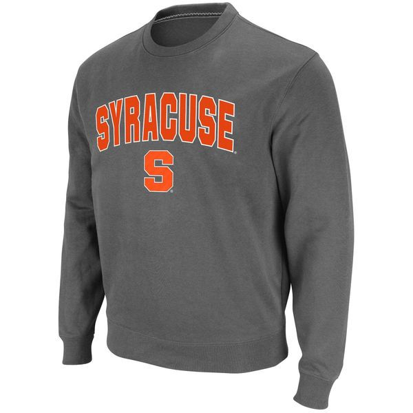 3e3457587f34 Syracuse Orange Stadium Athletic Arch   Logo Crew Pullover Sweatshirt -  Charcoal -  24.99