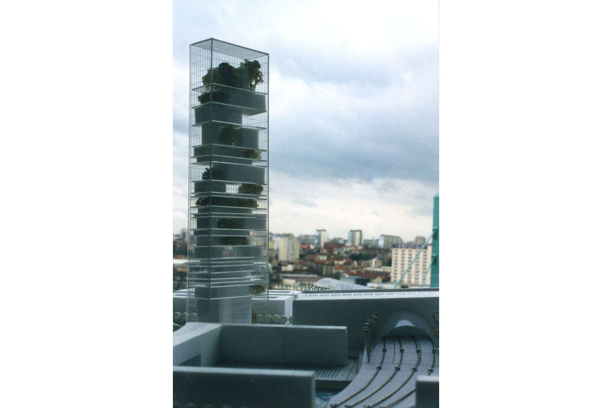 Dominique Perrault Architecture - Tower, Lehrter Bahnhof