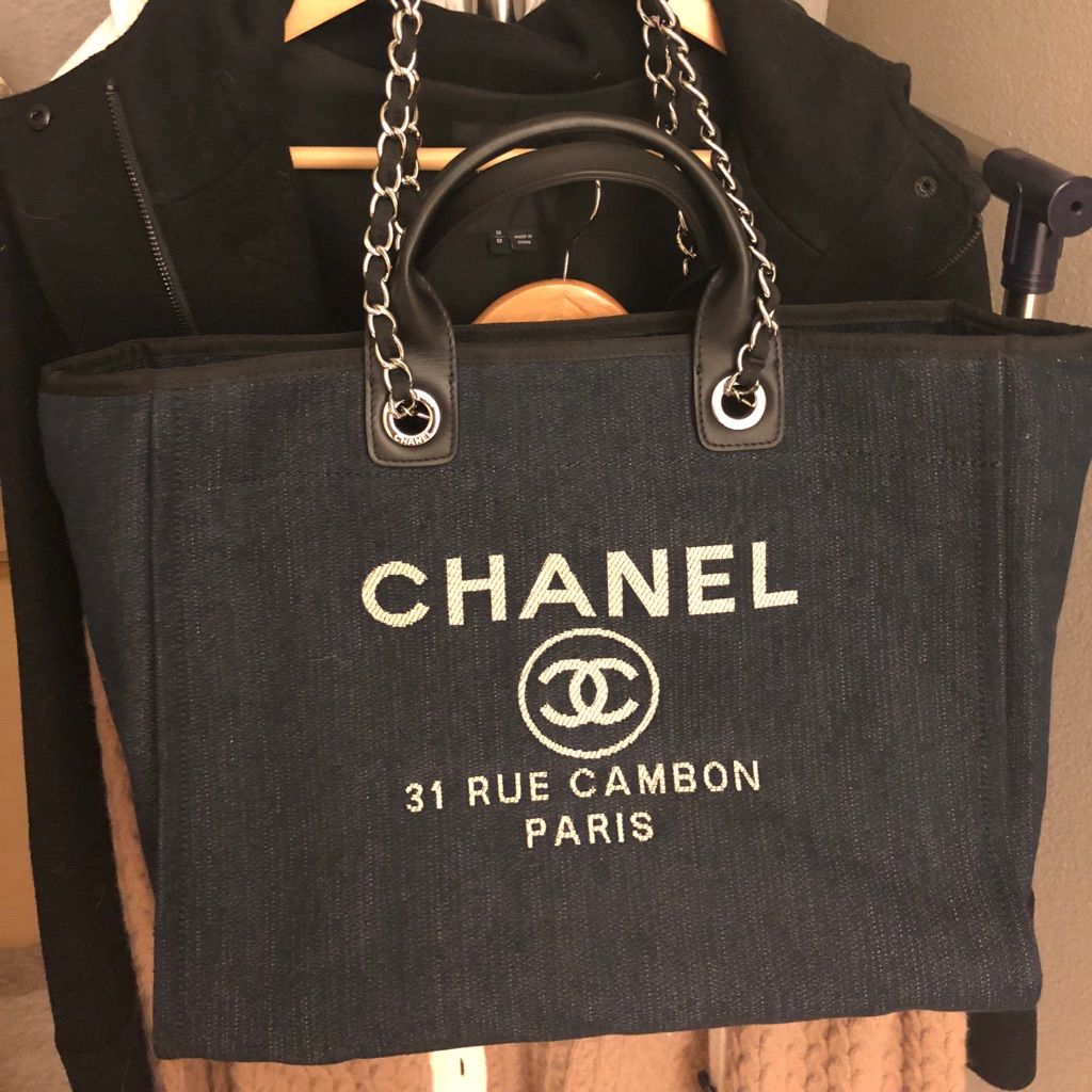Deauville Tote Bag Dark Denim