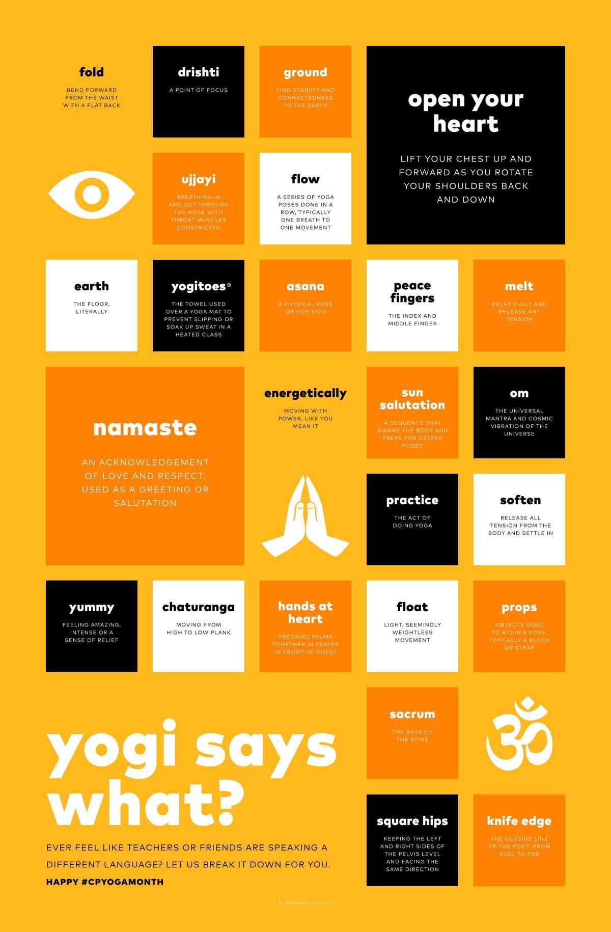 Yogi Says What   CorePower Yoga