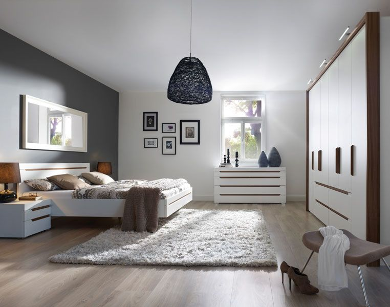 LORIANO Grifflose Schränke Schwebende Betten Ein Schlafzimmer - schränke für schlafzimmer
