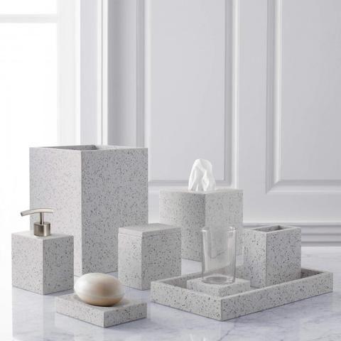 Terrazzo Bathroom Accessories (With images)   Bathroom ...