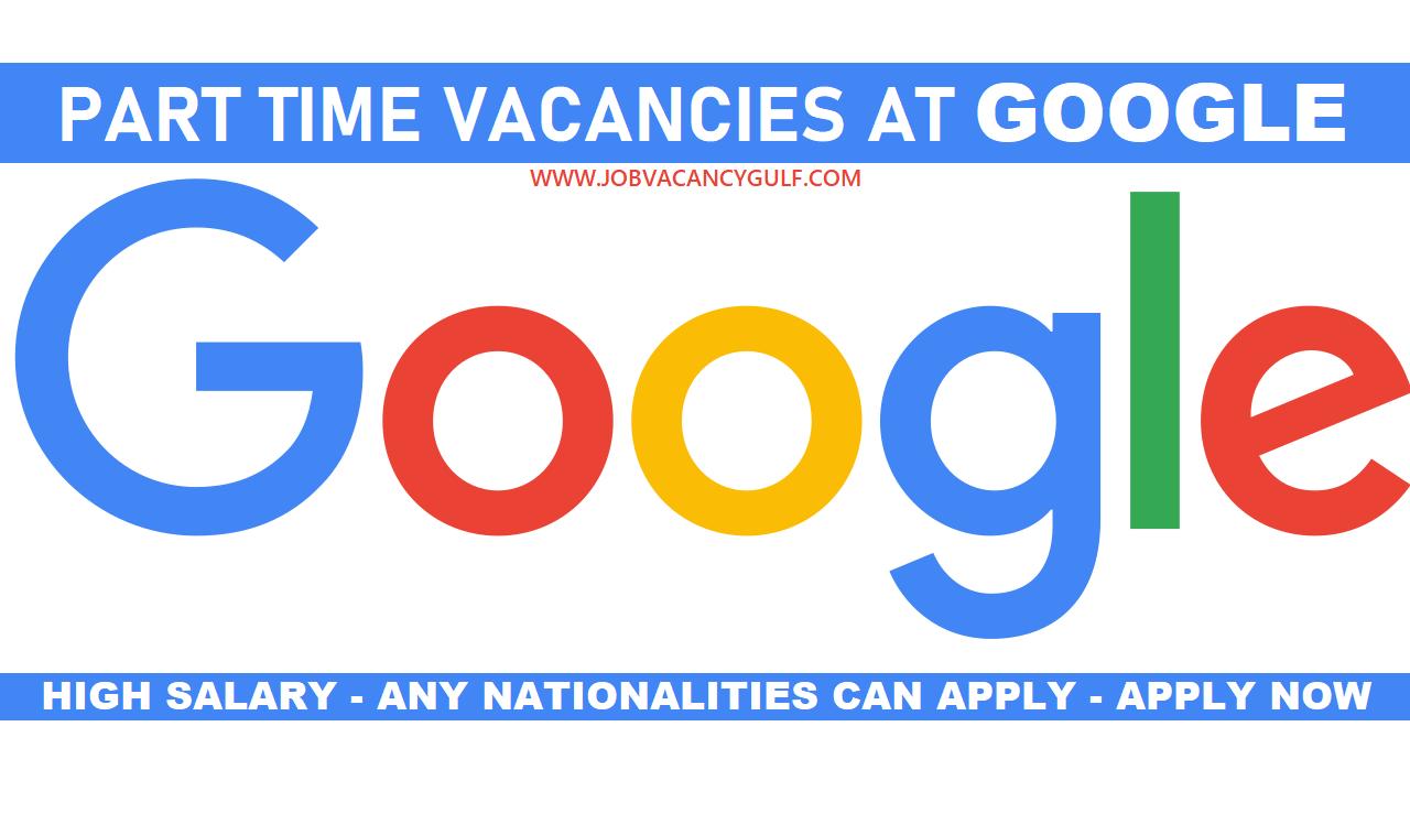 Part Time Jobs At Google Part Time Jobs Writing Software Job