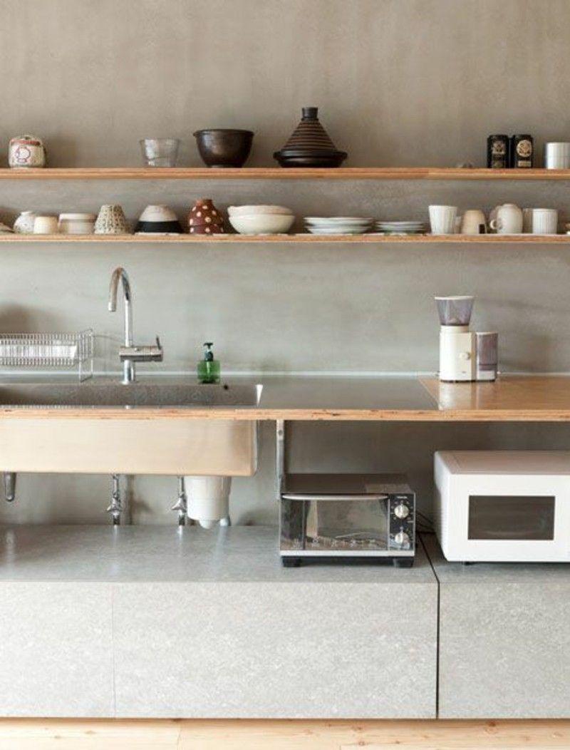 awesome lärchenholz vorteile küchenmobel küchenarbeitsplatte ...