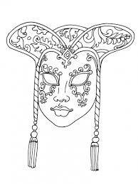 R sultat de recherche d 39 images pour masque carnaval mandala masque coloriage masque - Mandala carnaval ...