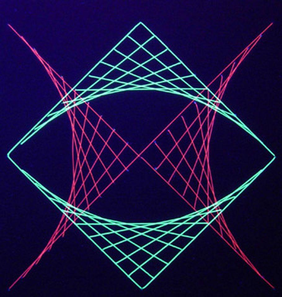 Simple Pattern Design Ideas: Simple Geometric Designs Squares String Art Design Square