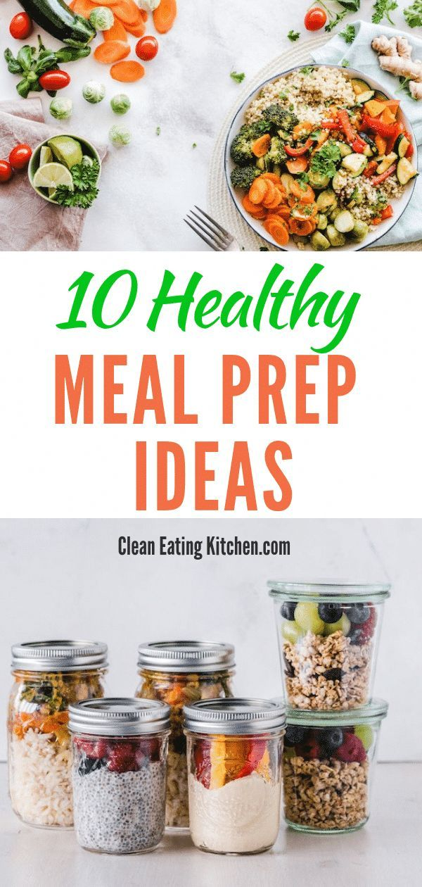 Meal Prep Ideas (For Beginners & Busy People) #mealprepplans