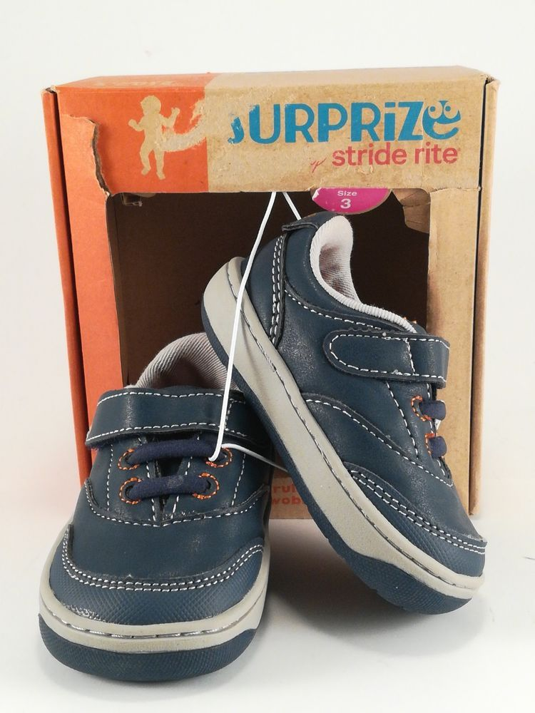 9bf4fed52418 Surprize by Stride Rite Arthur Sneakers Boy Toddler Navy Size 3  fashion   clothing  shoes  accessories  babytoddlerclothing  babyshoes (ebay link)