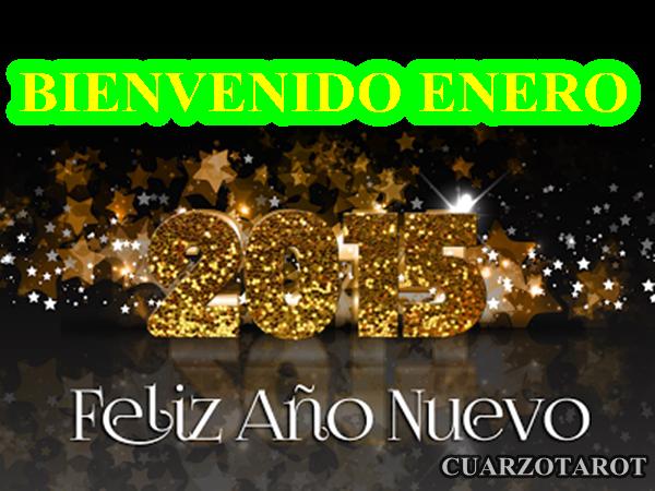 BIENVENIDO ENERO!!!   #Feliz2015 #Para2015Quiero #Cachitos2015  https://www.cuarzotarot.es/