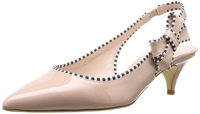 Kate Spade New York Women S Ollie Heeled Sandal Patent Kitten Heel Women S Shoes Sandals Heeled Sandals Shoes Hee Heels Sandals Heels Kitten Heel Shoes