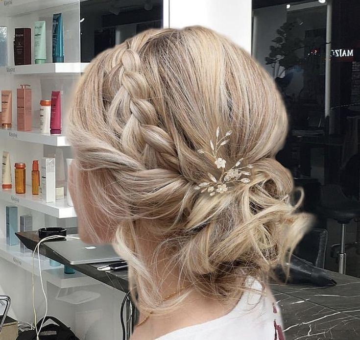 – Hochzeitsfrisuren – #Hochzeitsfrisuren #notitle – Frisuren Modals 2019