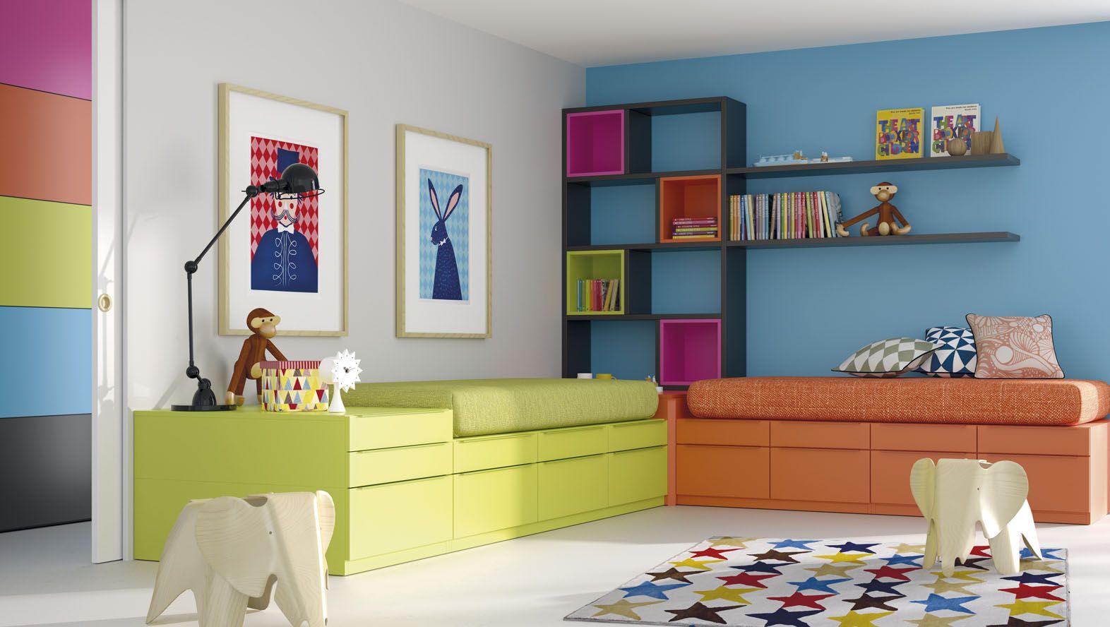 Dormitorios juveniles modernos de Muebles JJP   Dormitorios ...