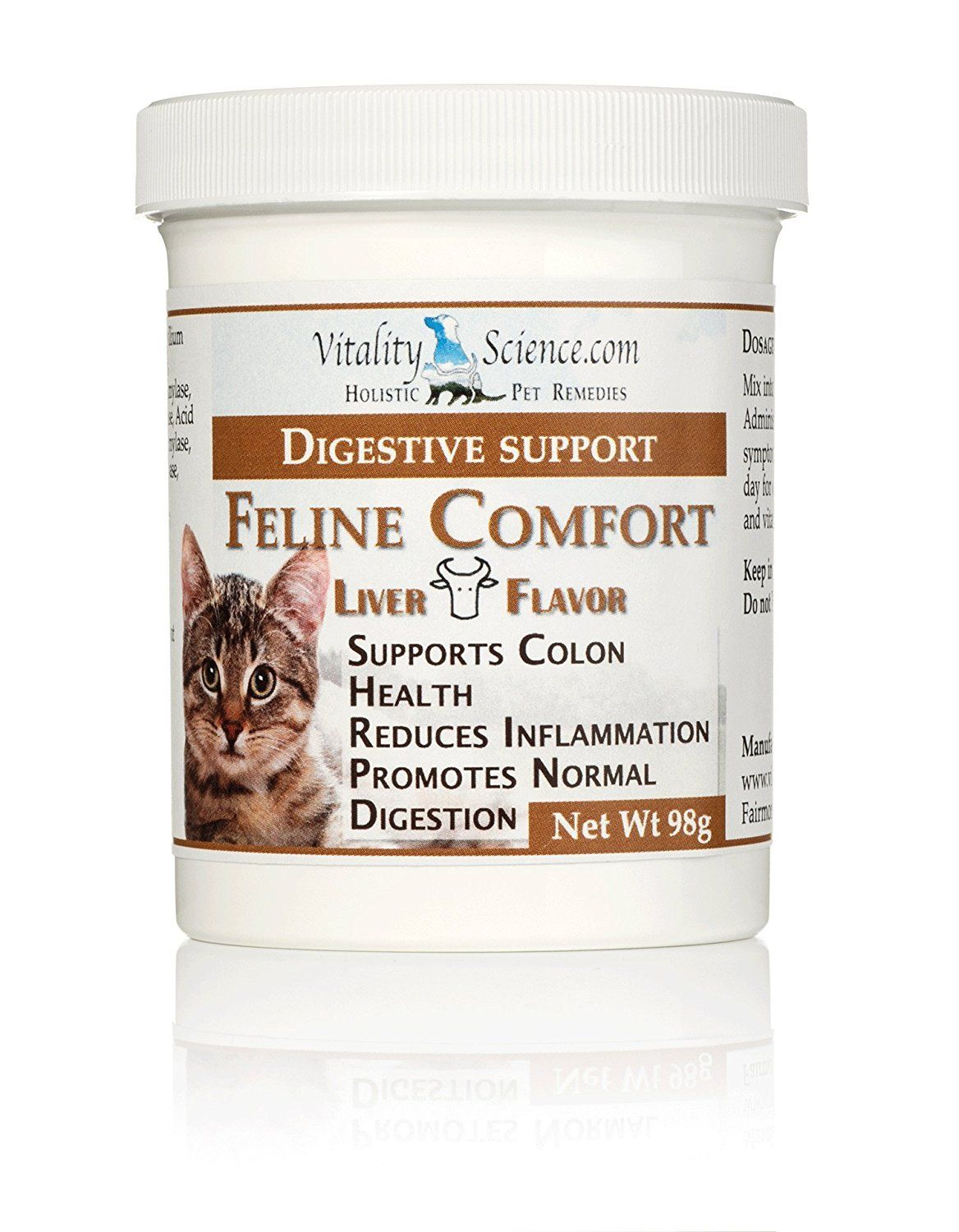 Feline Comfort For Cats With Vomiting And Diarrhea Dietary Supplement You Will Love This More Info Here Cat Supplies Digestion Aid Digestive Support