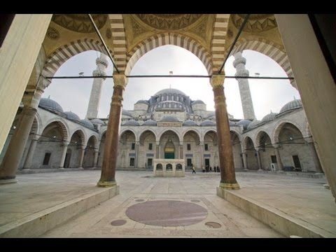 Suleymaniye Camii Nasil Cizilir How To Draw Mosque Of The Magneficent Suleiman Camii Camiler Dunya