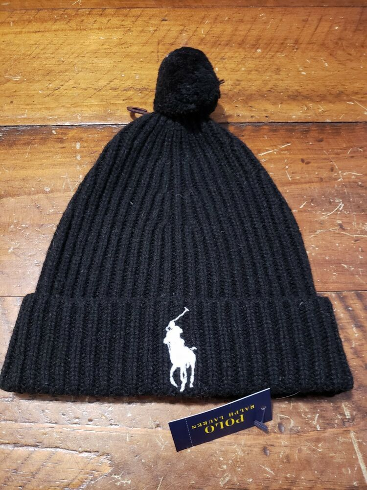 dfdc5324 Polo Ralph Lauren Men's Big Pony Pom Pom Skull Cap Beanie Hat Black NWT  PP078 #fashion #clothing #shoes #accessories #mensaccessories #hats (ebay  link)
