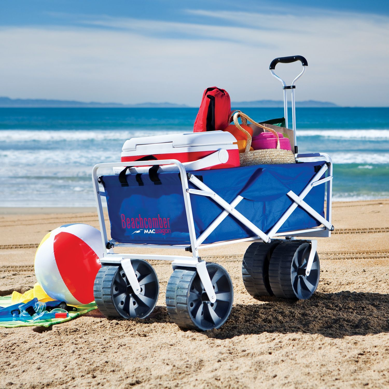 Folding Beach Wagon I Need To Invest In One Soon Beach
