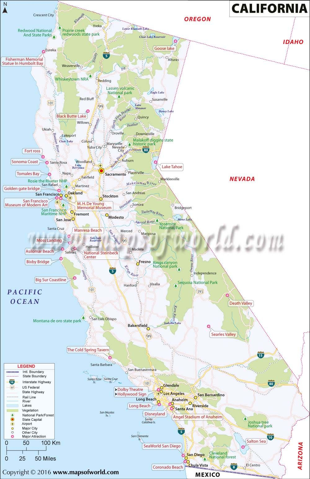 Germany Physical Map Maps Pinterest Beautiful Places Rivers - Us map california state
