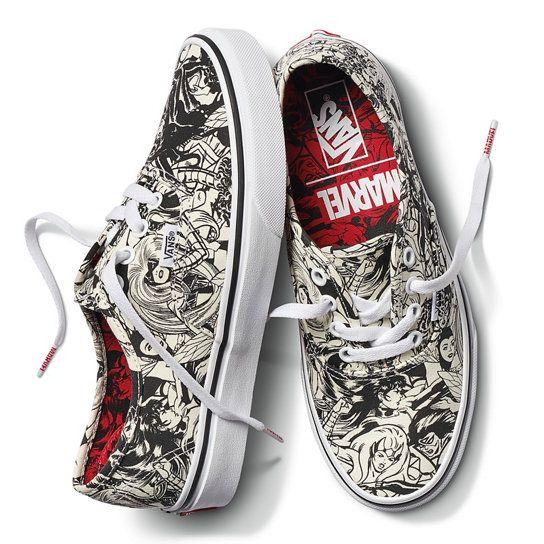 Vans X Marvel Authentic Schuhe | Vans | Marvel shoes, Marvel ...