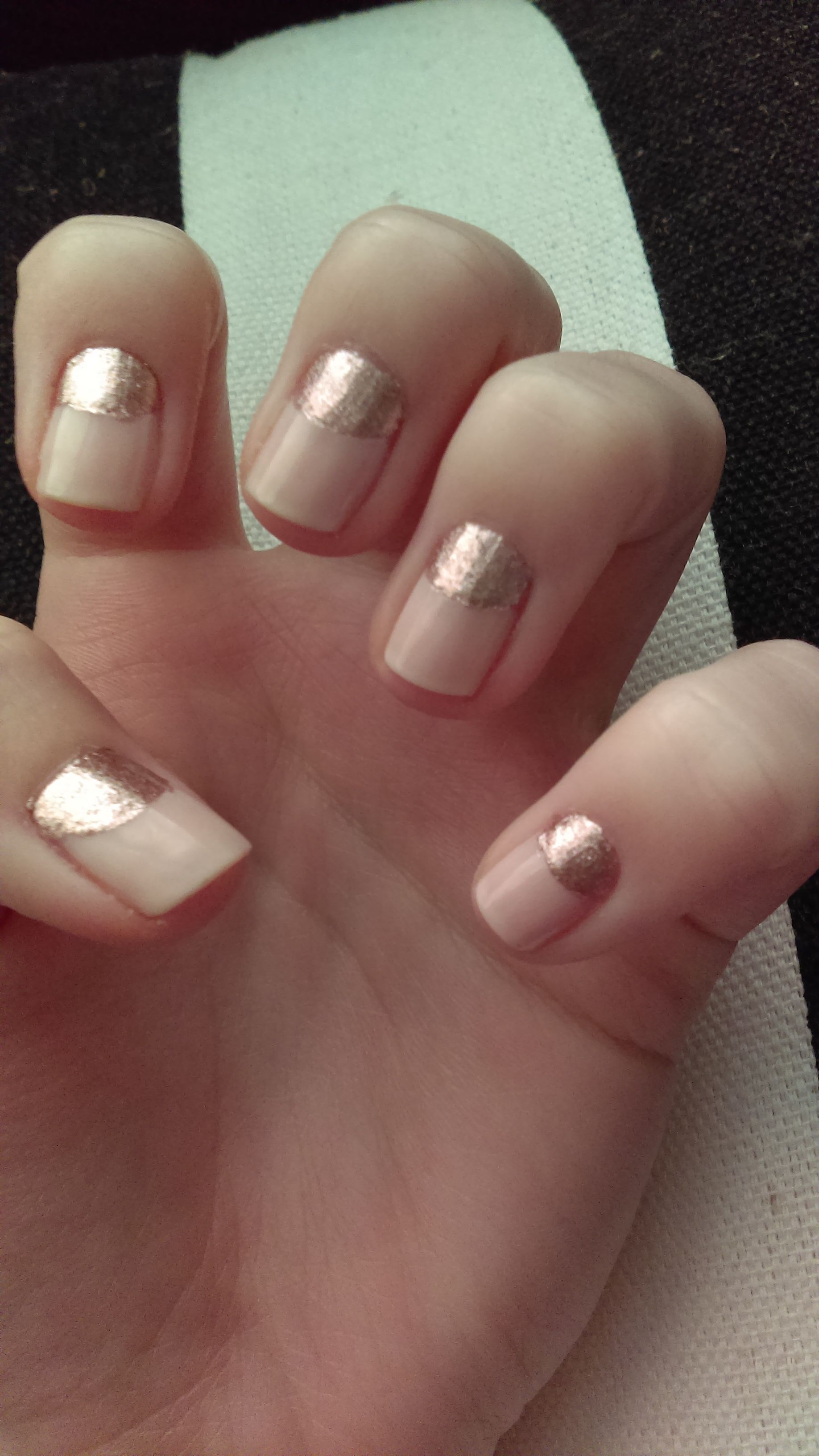 L.A. Colors In the Nude & Pink Champagne - Imgur   nail ideas ...