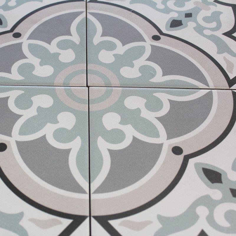 Carrelage Sol Et Mur Aspect Carreau Ciment Decoro Urban Alba En
