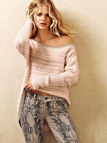 NEW! Shadow Stripe Angora Tunic Sweater #VictoriasSecret http://www.victoriassecret.com/clothing/top-holiday-trends/shadow-stripe-angora-tunic-sweater?ProductID=68655=OLS?cm_mmc=pinterest-_-product-_-x-_-x
