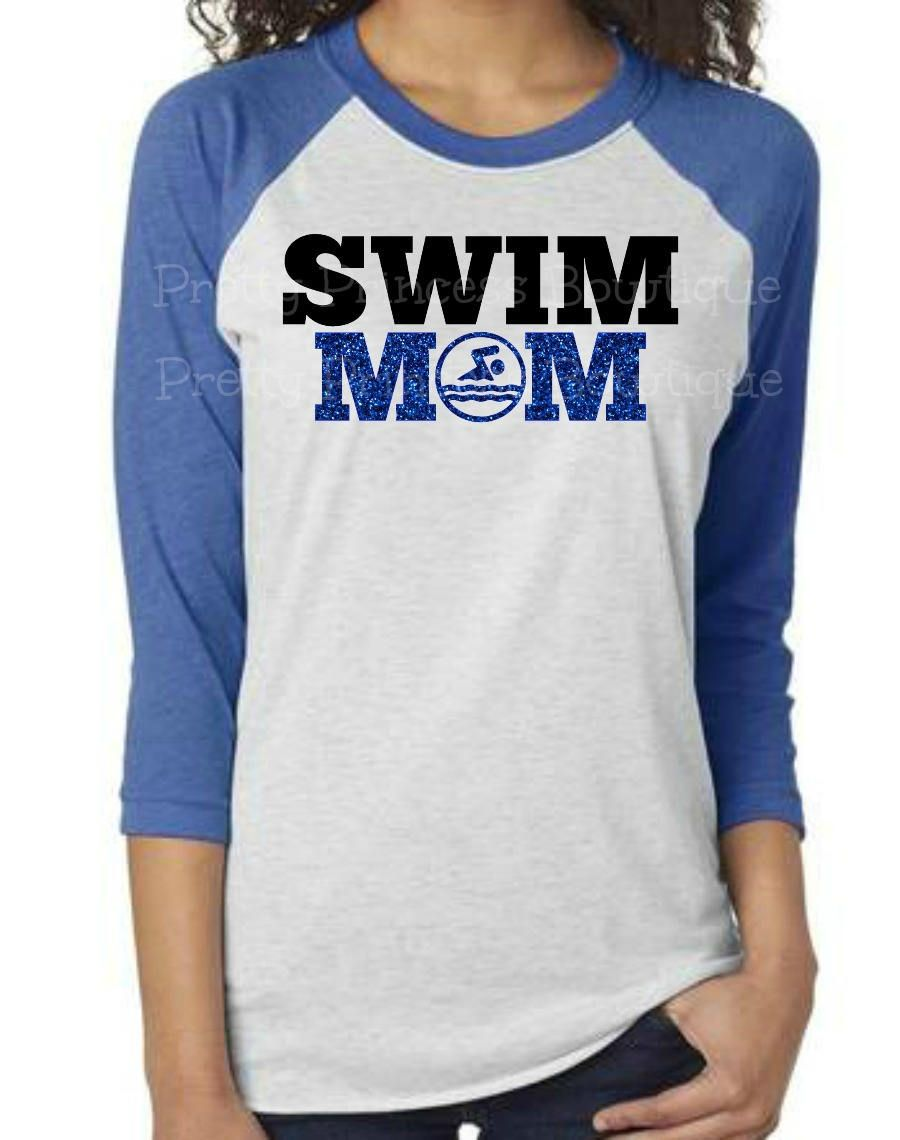 7565a956 Swim Mom Shirt, swim mom bling, swim team shirt, swim mom, swim team, swimming  shirt, swimming shirts, swim meet shirt,bling swim mom by ...