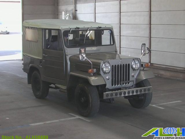Mitsubishi Jeep With Stock Number Alh36689 Is Now On Sale It