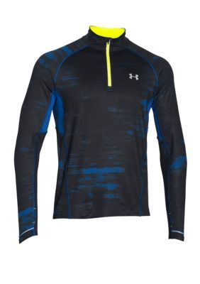 Under Armour  Launch Run Printed Zip Pullover