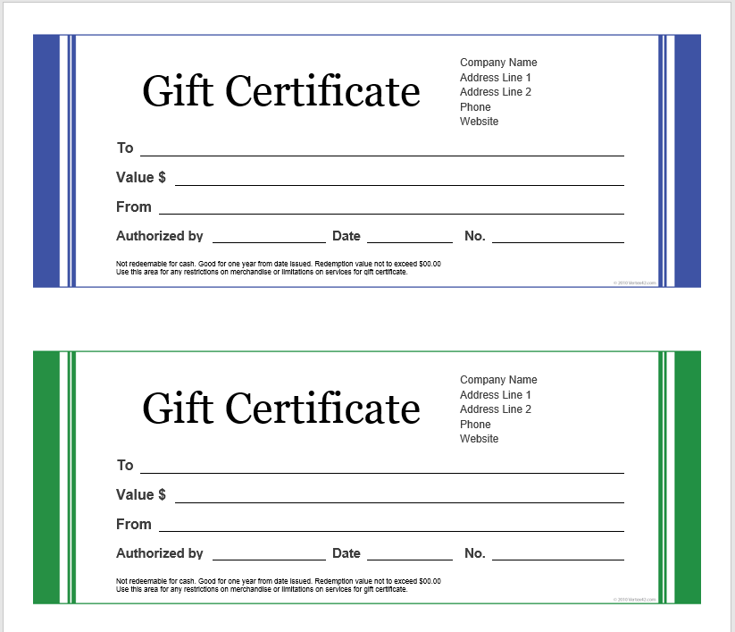 43 Free Printable Gift Certificate Templates Microsoft Office Templat Free Gift Certificate Template Gift Certificate Template Word Gift Certificate Template