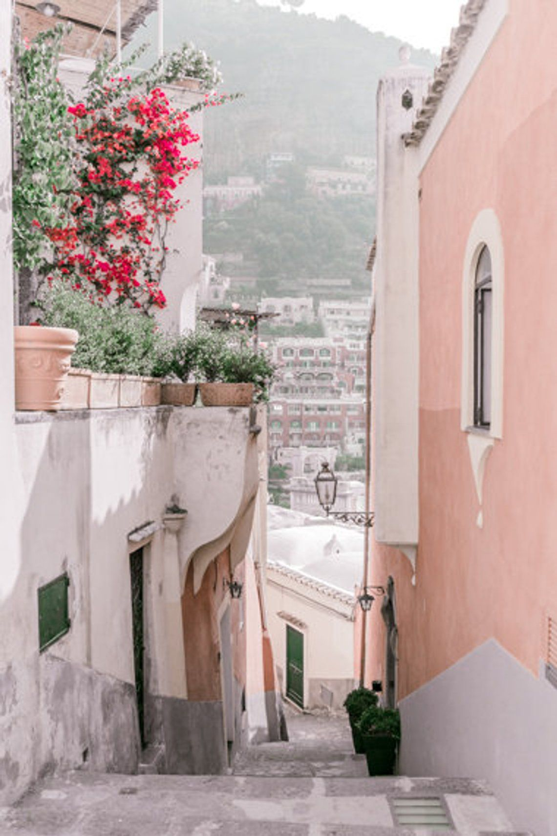 Italy Prints Wall Art Positano Wall Art Prints Etsy Picture Collage Wall Photo Wall Collage Art Collage Wall