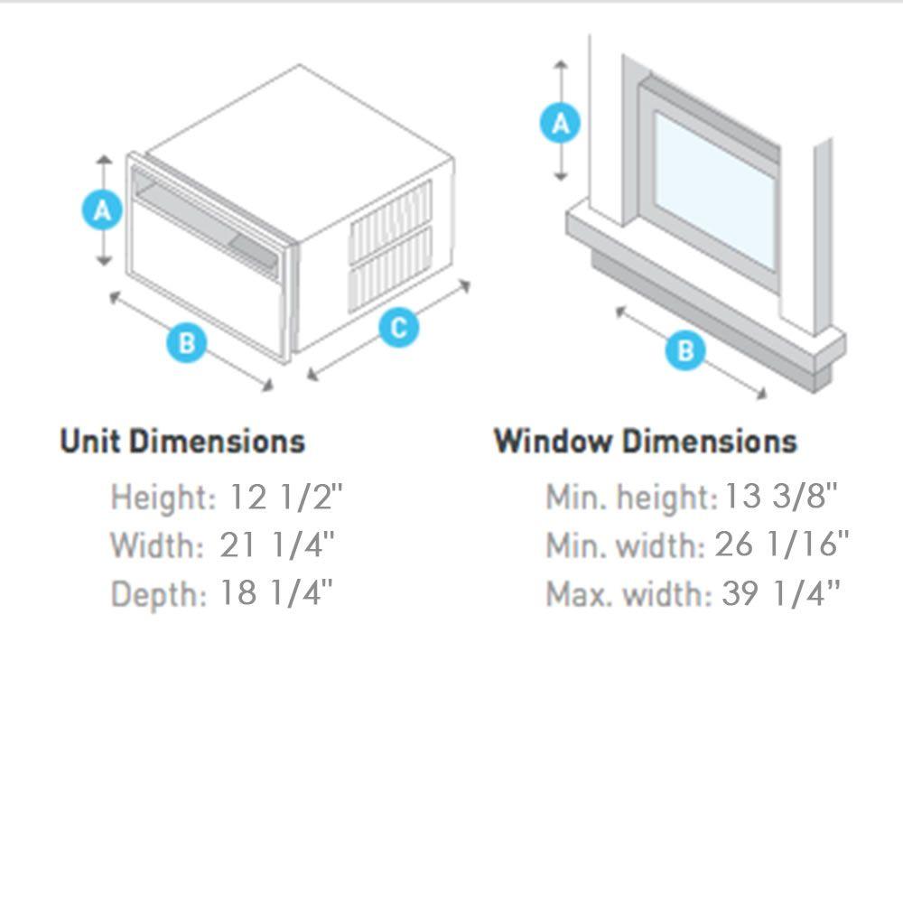 The Quietest Window Air Conditioner Hammacher Schlemmer Quiet