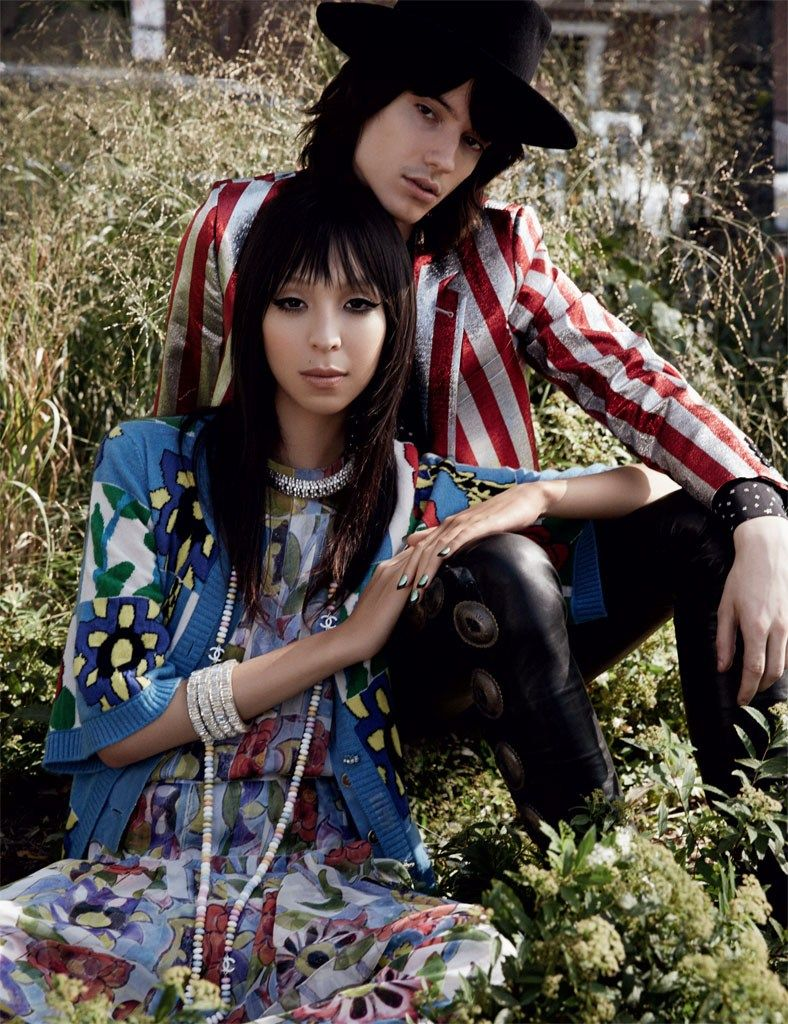issa lish by david roemer for vogue mexico december 2014
