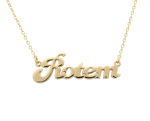 c32c2caa8 Personalized Name Necklace 21k Gold Plating is certain to make a favorable  impression. Birthday Gifts for Mom, no doubt it is a perfect gift for her  ...