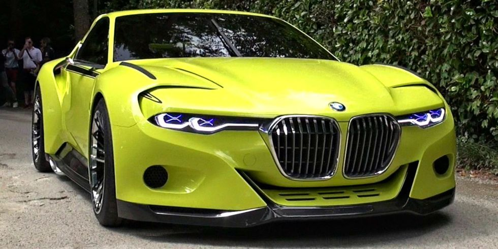Oddlooking BMW CSL Homage Sounds Awesome BMW And Cars - Awesome bmw
