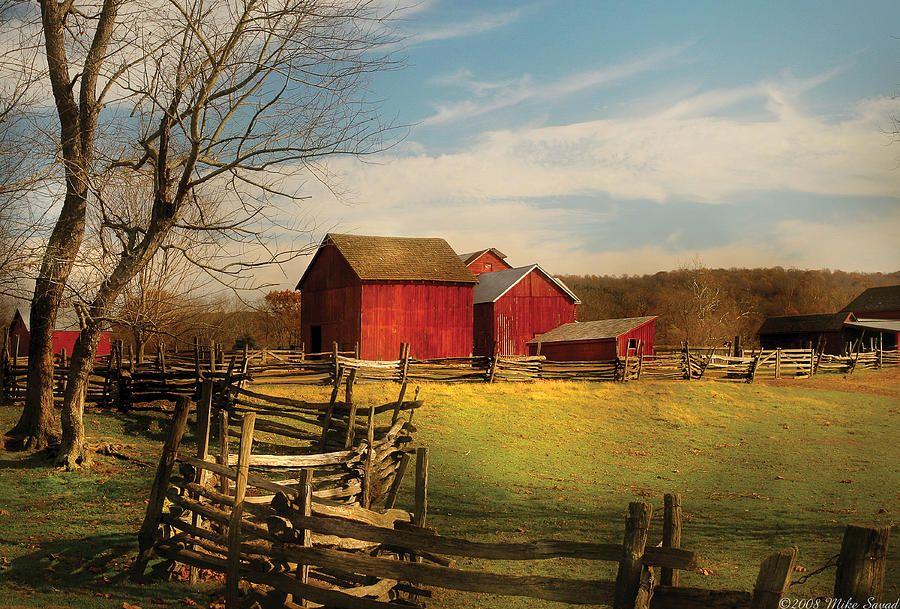 Farm Barn barns and farms   farm - barn - i bought the farm photograph