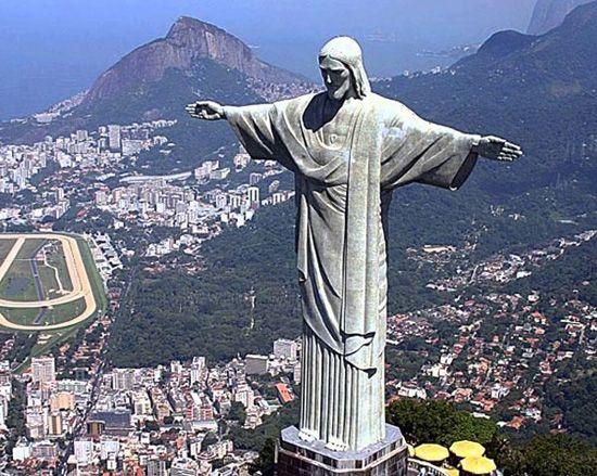 Cristo Redentor De Río De Janeiro Brasil Cristo Redentor Cristo Maravillas Del Mundo