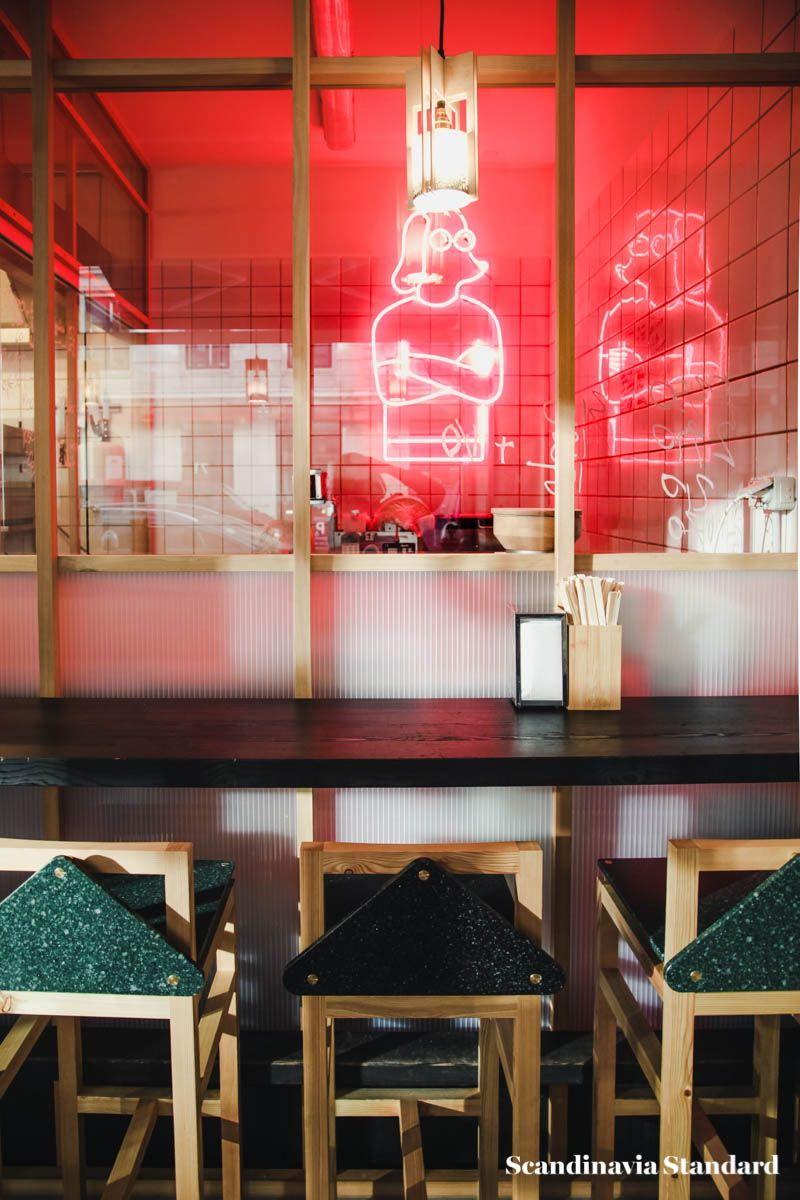 All aboard the hygge express at slurp ramen joint asian