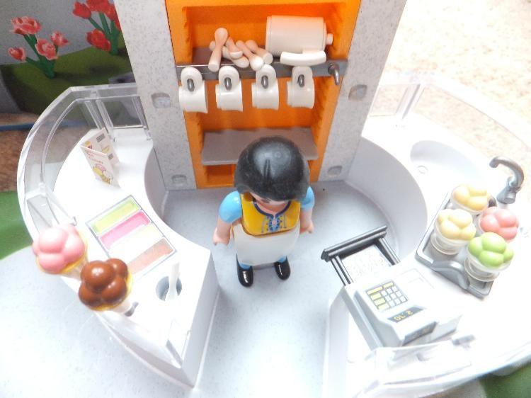 Playmobil schlafzimmer ~ Playmobil eisdiele nr m spielzeug spielzeug
